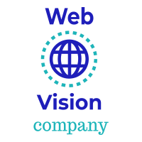 logo of web vision company pakistan web design